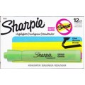 Green Broad Tip Fluorescent Highlighter