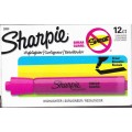 Pink Broad Tip Fluorescent Highlighter