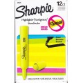 Yellow Broad Tip Fluorescent Highlighter