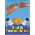 Brown Chisel Tip Permanent Marker
