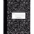 "9.75"" x 7.5"" 100 Sheet Composition Book"