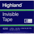 "3/4"" x 1296"" Invisible Economy Tape"