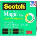 "3/4"" x 1000"" Scotch Magic Invisible Tape"