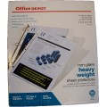 Heavy Duty Sheet Protectors, 100 ct.