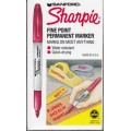 Red Fine Point Permanent Marker