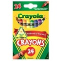 Crayola Crayons, 24 ct.