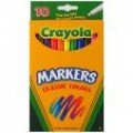 Crayola Classic Color Markers, Thin Point, 10 ct.