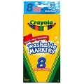 Crayola Bold Color Washable Markers, Thin Point, 8 ct.