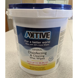 ***LIMITS APPLY***  Pre-Moistened Disinfecting Wipes (500 ct.) Order 6 for a full case.