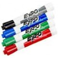 Assorted Low Odor Chisel Point Dry Erase Markers