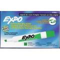 Green Chisel Point Dry Erase Marker