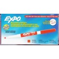 Red Low Odor Fine Point Dry Erase Marker