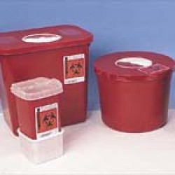2-Gallon Biohazard Sharps Container