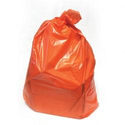 "4 MIL Orange 38""x60"" Can Liners, 50/cs."